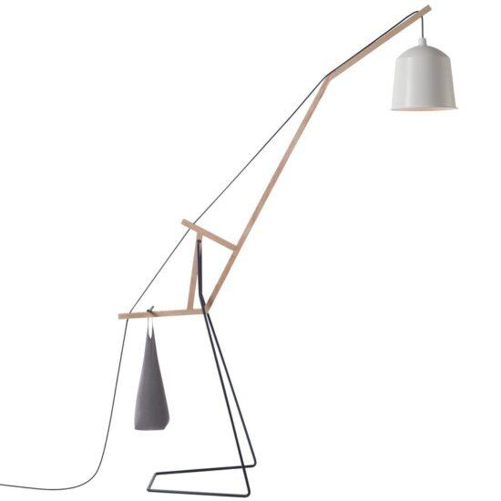 A Floor Lamp