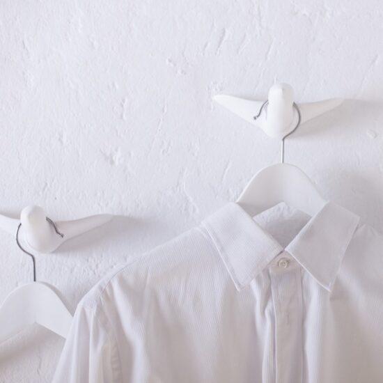 Flock of Birds, Keraamika valge, nagid 6tk