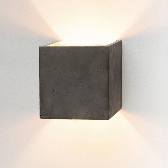 B3 Dark betoonist seinavalgusti