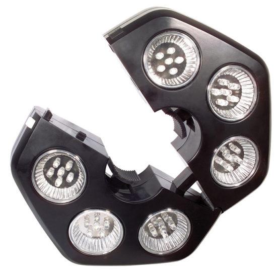 LED valgustid päikesevarjule