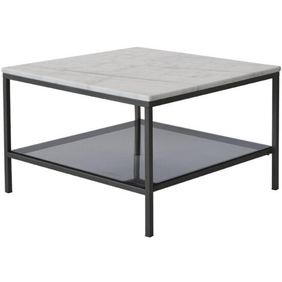 Ascot kohvilaud 75×75, hele marmor
