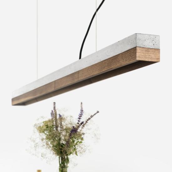 C1 Pähklipuust – Light betoonist laevalgusti