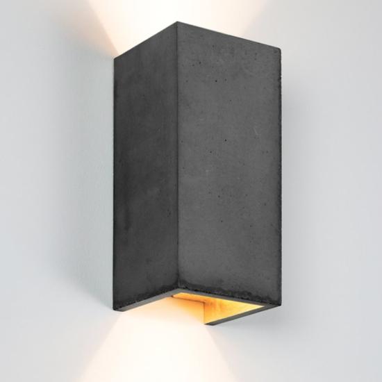 B8 Dark betoon seinavalgusti
