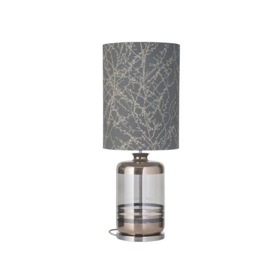 Pillar lauavalgusti Branches, grey/silver