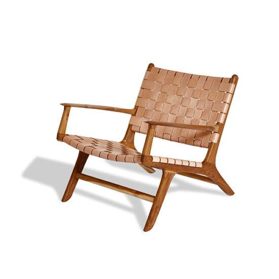 Lounge chair A2 käetugedega
