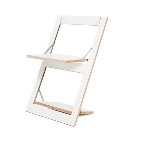 Fläpps kokkuklapitav tool, valge