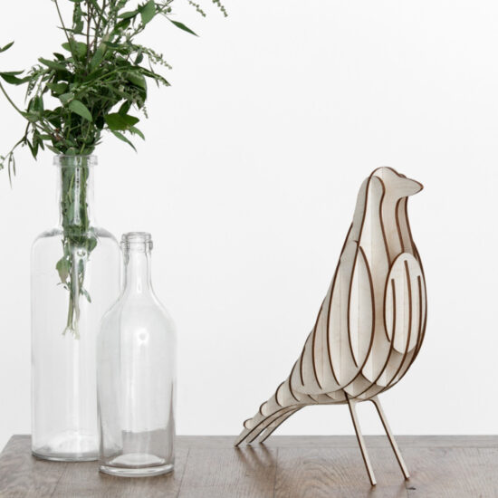 DIY wood bird