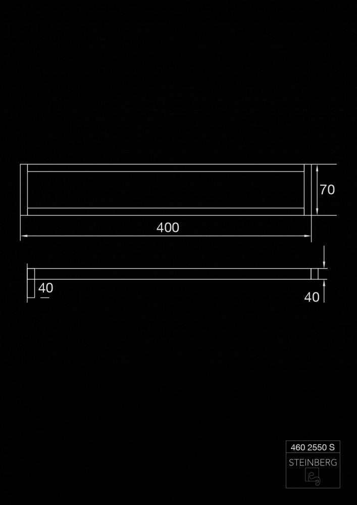 41755f14eb6 460 seeria rätikuhoidja Steinberg, matt must – Sisustus, mööbel ja ...