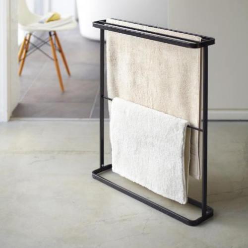 Rätikuhoidja põrandale, matt must