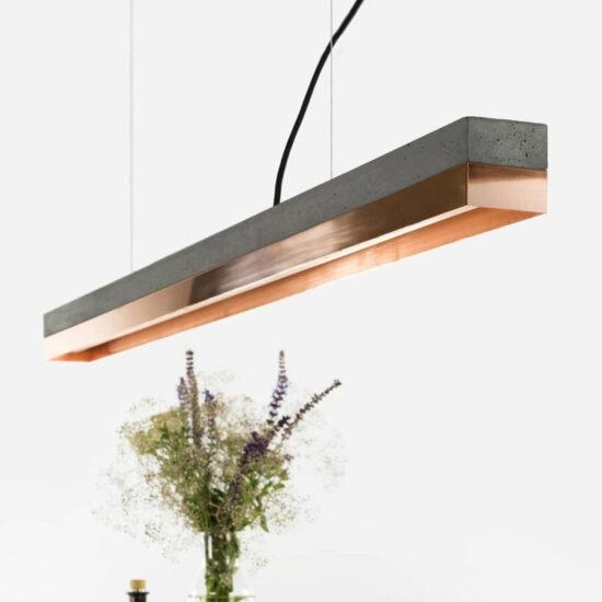 C1 Copper – Dark betoonist laevalgusti