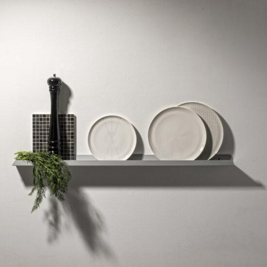 Solid 03 metallriiul seinale, 100cm